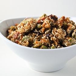 Double Power-Packed Granola