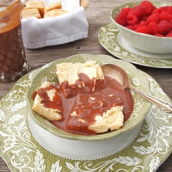 Easy Biscuits and Chocolate Gravy