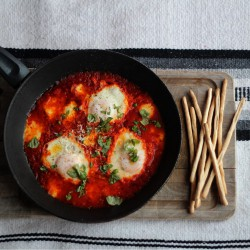Eggs in Tomato Passata Recipe