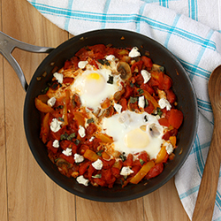 Eggs Poached in Tomato Sauce Recipe