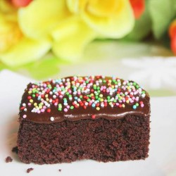 Feather Light Chocolate Cake
