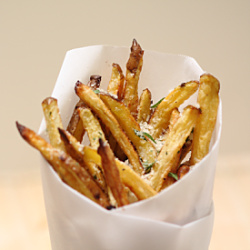 Garlic Parmesan Fries Recipe