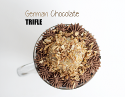 German Chocolate Trifle