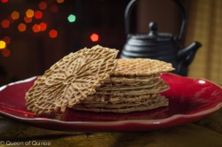 Gluten-Free Pizzelle Cookies