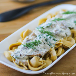 Greek Yogurt and Mushroom Sauce