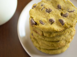 Green Tea Chocolate Chip Cookies