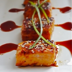Grilled Spicy Sesame Salmon Recipe