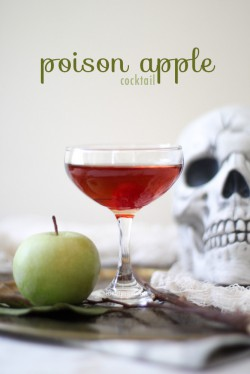Halloween Poison Apple Cocktail Recipe