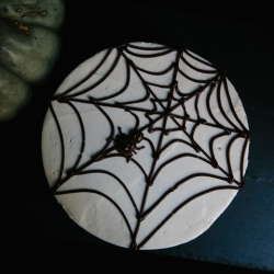 Halloween Spider Cake Recipe
