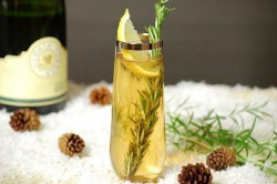 Holiday wine cocktails