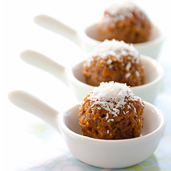 Honey and Coconut Balls