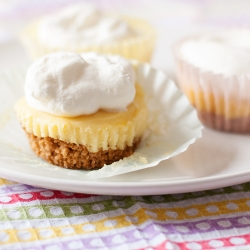 Individual Frozen Lemon Lime Pies Recipe
