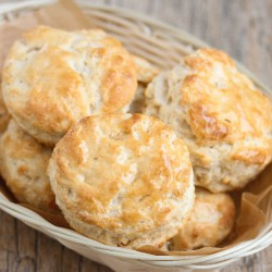 3 Ingredient Buttermilk Biscuits