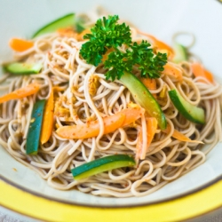 Japanese Spicy Soba Noodle