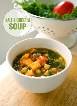 Kale and Chickpea Soup Recipe