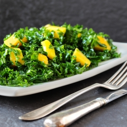 Kale Mango Salad Recipe