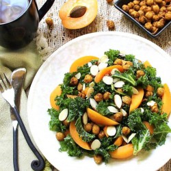 Kale Salad with Apricot