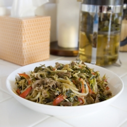 Lamb Stir Fry with Jalapeno Recipe