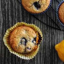 Lemon Berry Muffins Recipe
