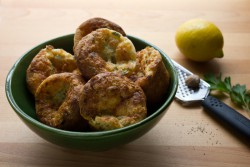 Lemon Pepper Popovers Recipe