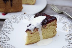 Lemon Polenta and Blackberry Cake Recipe