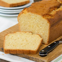Lemongrass Coconut Quick Bread