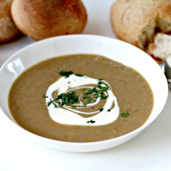 Lentil and Chestnut Soup