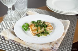 Mahi Mahi Fish Filets with Caper Salsa Verde Recipe