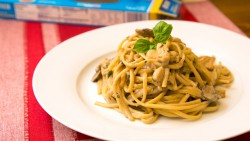 Marsala Cream Linguine Recipe
