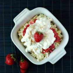 Millet with Strawberries