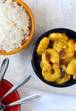5-Minute Prawn Curry