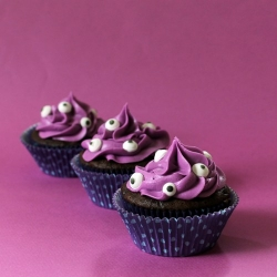 Monster Cupcakes for Halloween Recipe