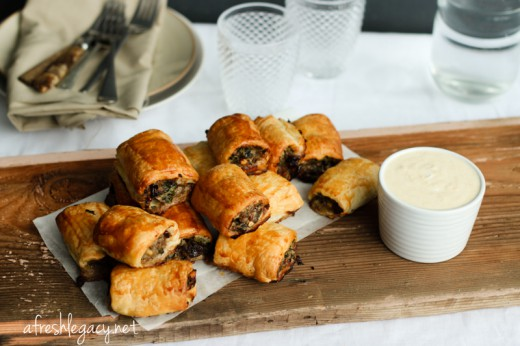 Moroccan Style Sausage Rolls