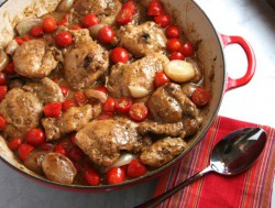 Mustard Chicken with Shallots