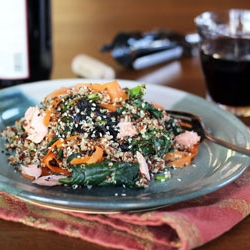Nori Quinoa Salad Recipe