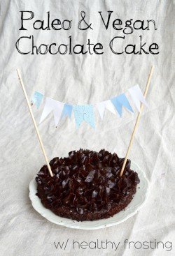 Paleo and Vegan Cake