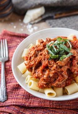 Pasta with Braised Pork Ragu