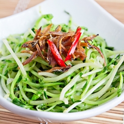 Pea Sprout Stir-Fry