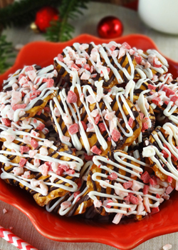 Peppermint Pretzel Crunch