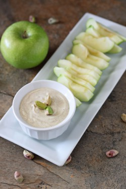 Pistachio Butter Yogurt Dip Recipe