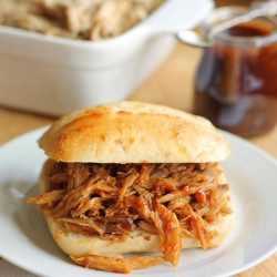 Pulled Pork in BBQ Sauce