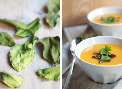 Pumpkin Ginger and Kaffir Lime Soup Recipe