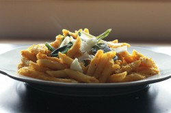 Pumpkin Pasta With Crispy Sage Recipe