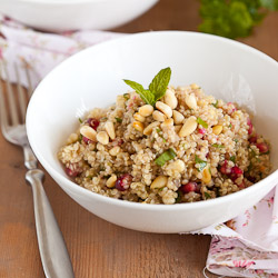 Quinoa and Pomegranate