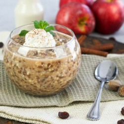 Raisin Cinnamon Overnight Oats