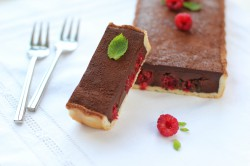 Raspberry Chocolate Tart Recipe