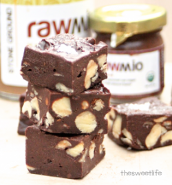 Raw Chocolate Hazelnut Fudge