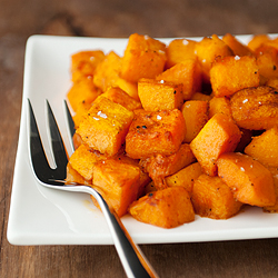 Roasted Butternut Squash w Spices