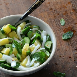Savory Pineapple Salad {Paleo}