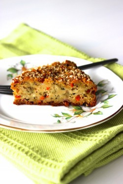 Savory Vegetable Cake